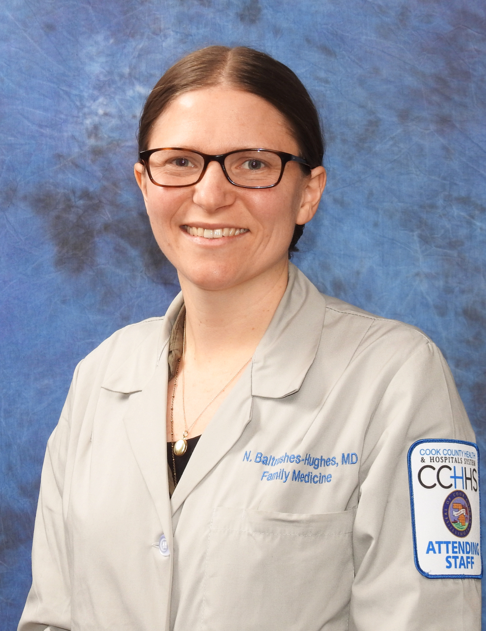 Nicole Baltrushes-Hughes, MD