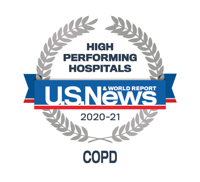 Cook County Health U.S. News & World Report - COPD