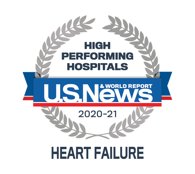 Cook County Health U.S. News & World Report - Heart Failure